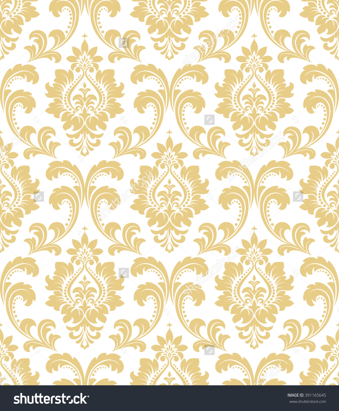 Download White And Gold Damask Wallpaper Gallery