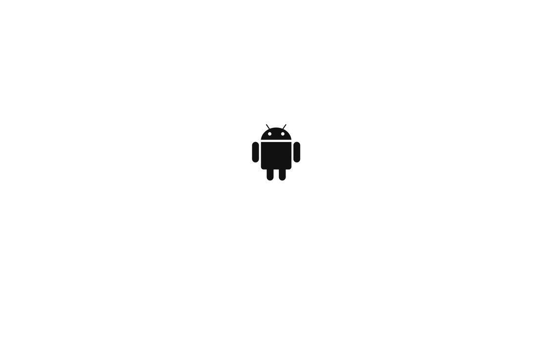 White Android Wallpaper