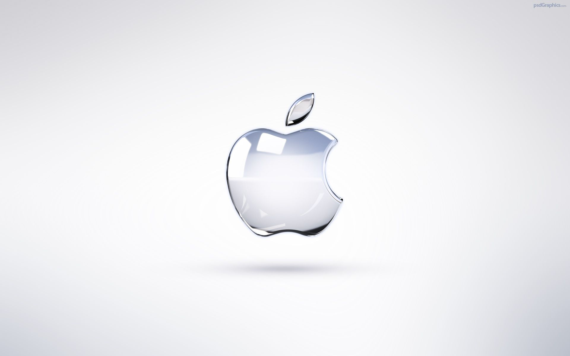 White Apple Wallpaper
