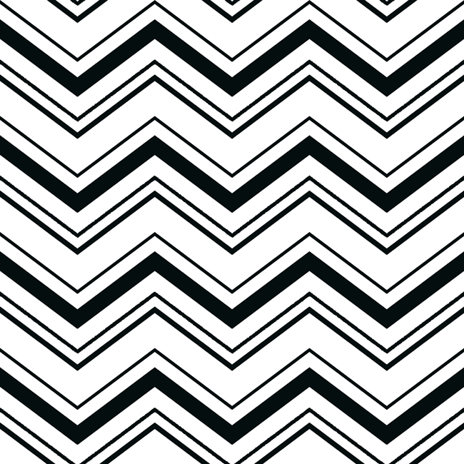 White Chevron Wallpaper