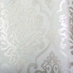 White Damask Wallpaper Uk