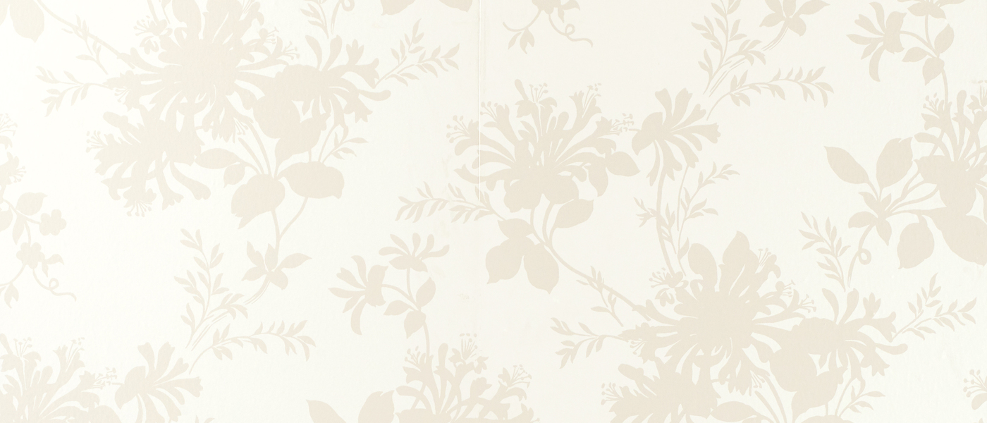 White Floral Wallpaper