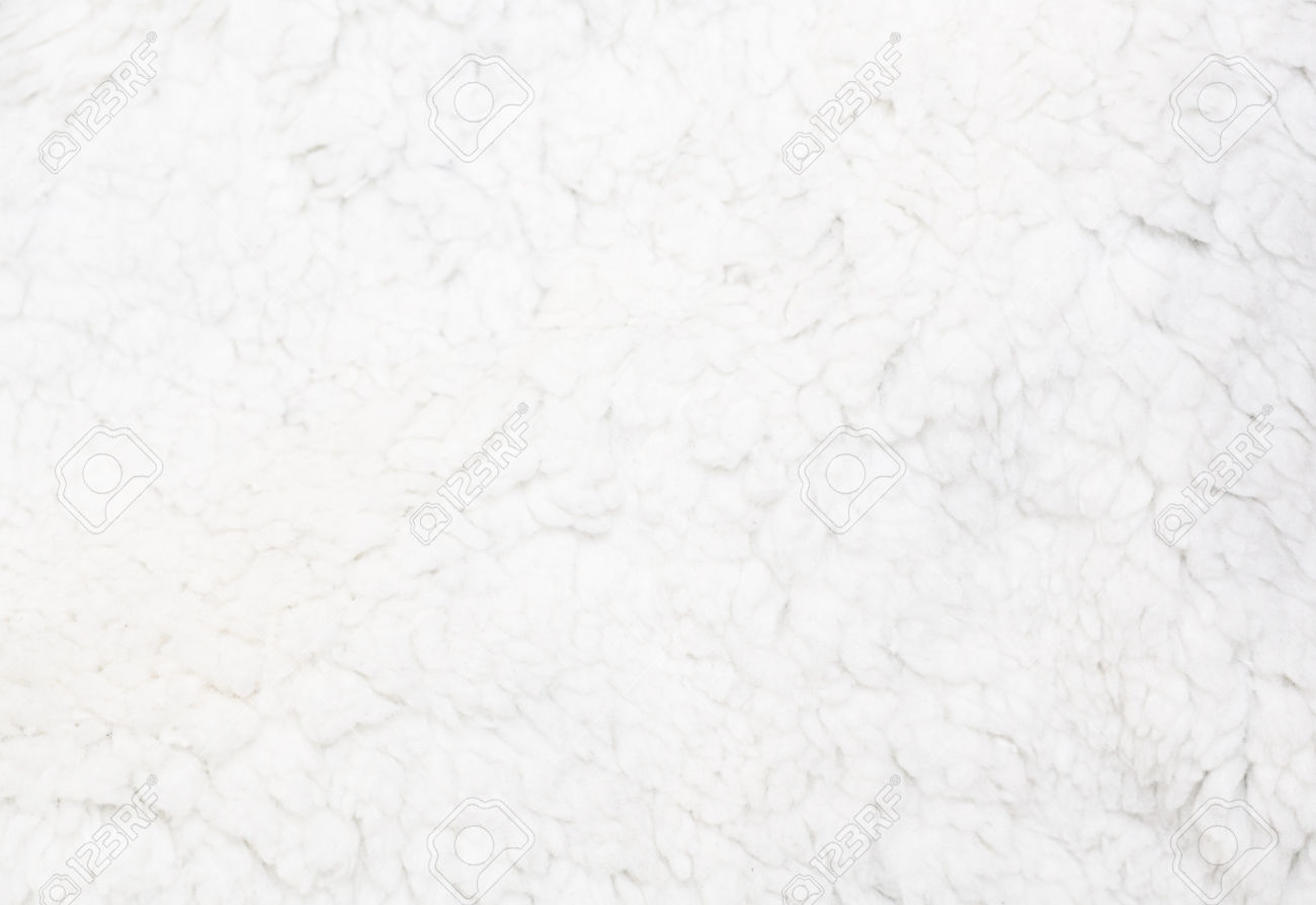 White Fur Wallpaper