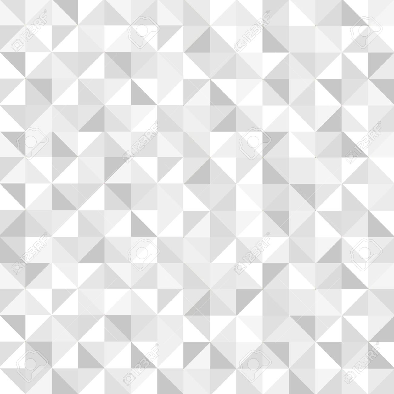 White Geometric Wallpaper