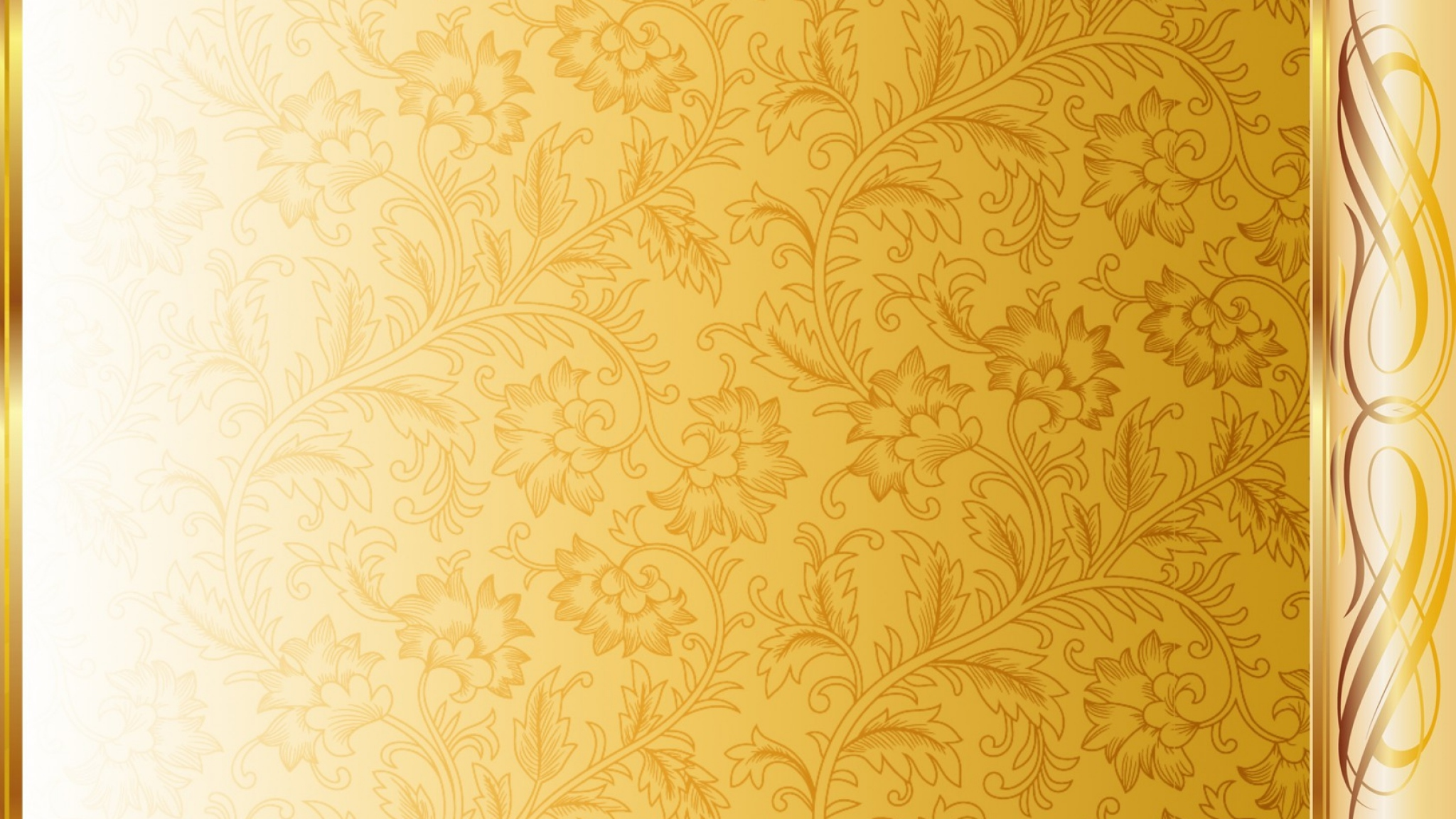 White Gold Wallpaper
