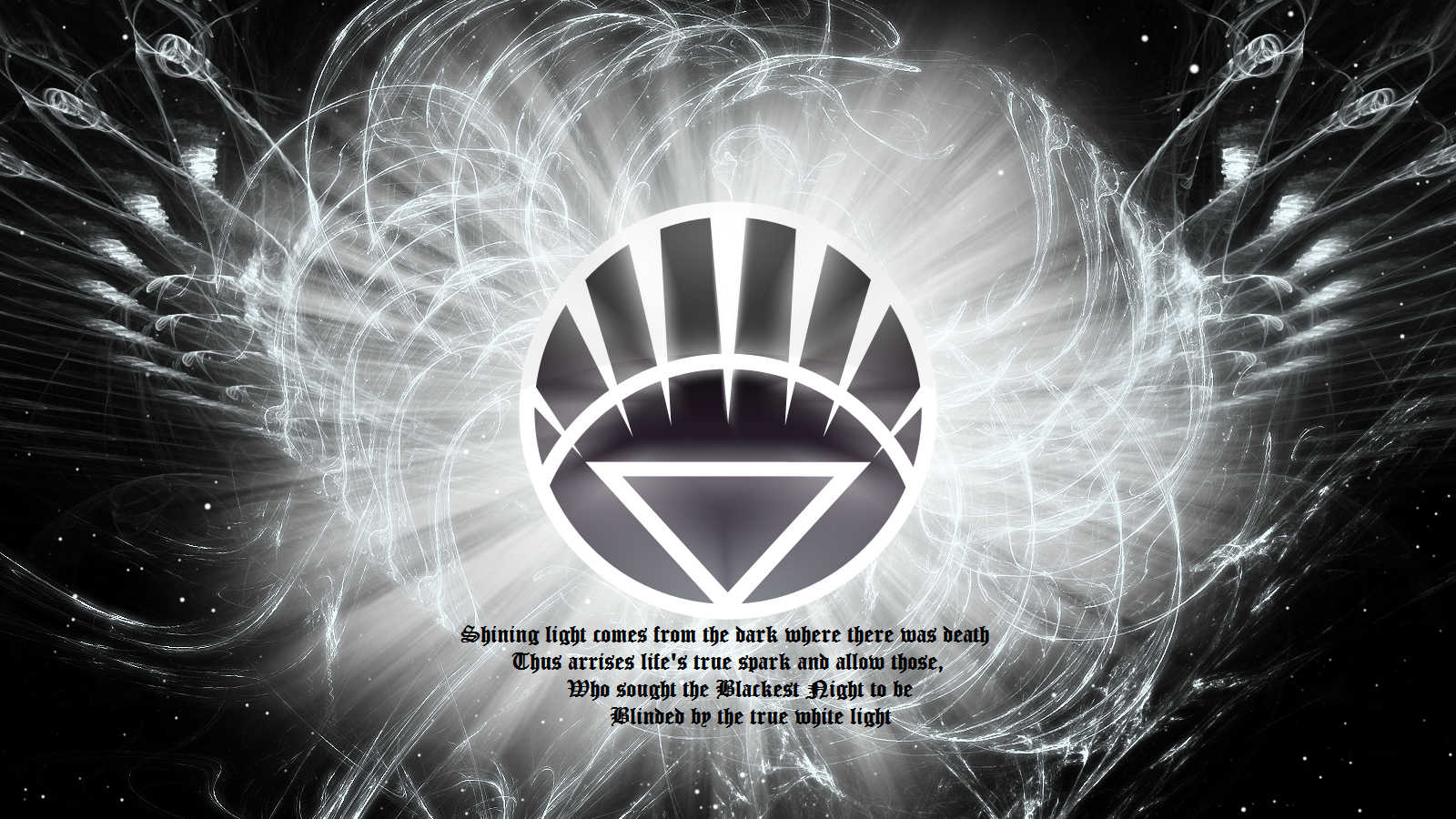 White Lantern Wallpaper
