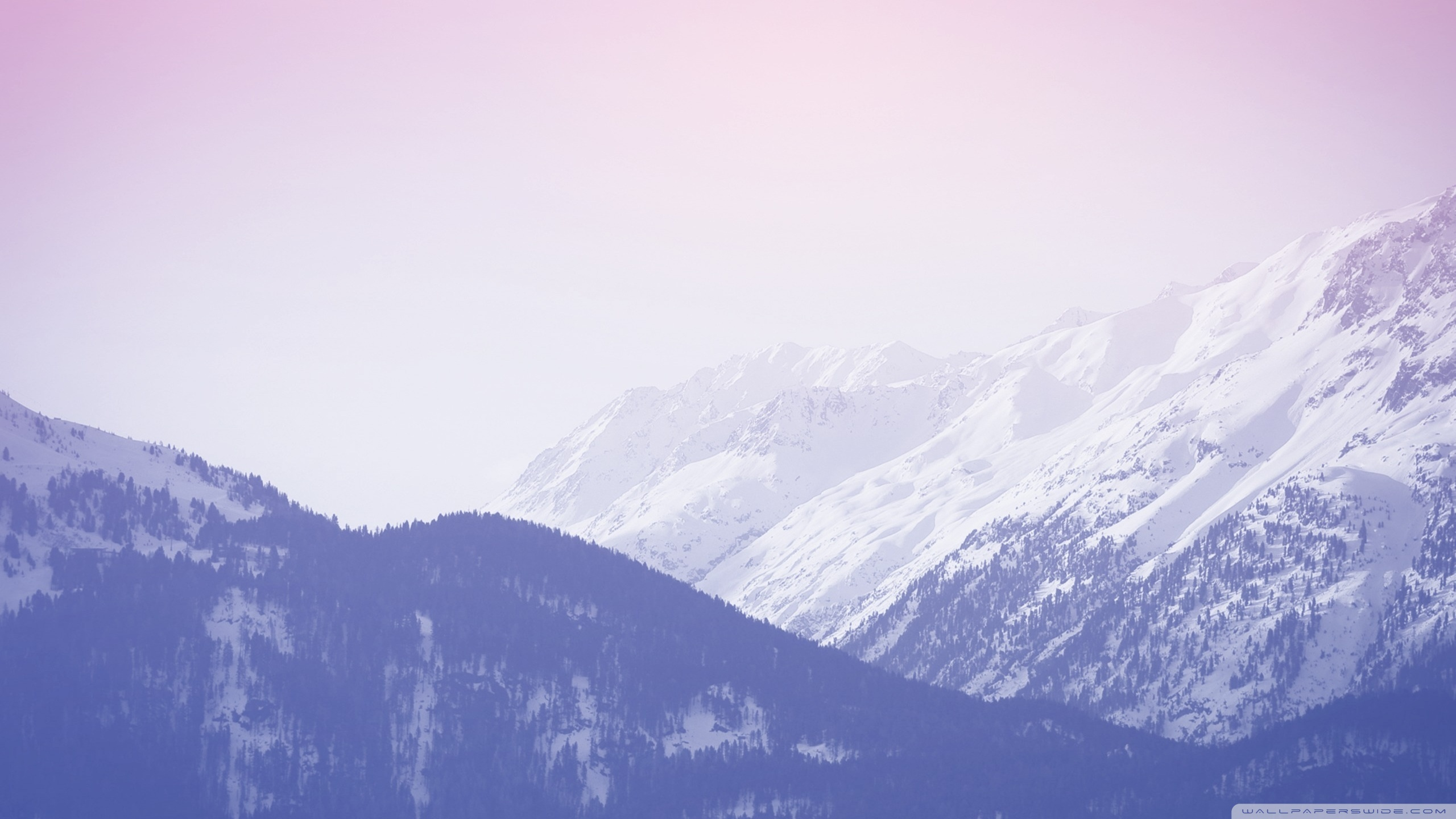 White Mountain Wallpaper