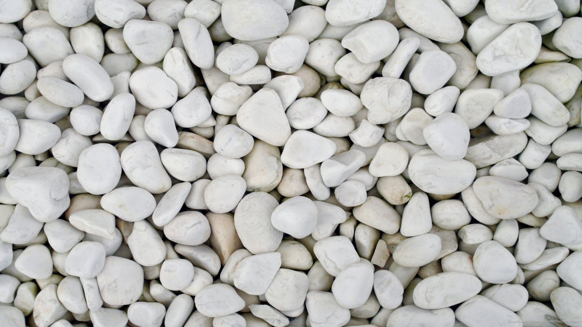 White Pebble Wallpaper