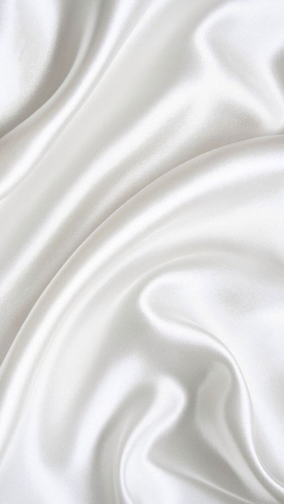 White Satin Wallpaper