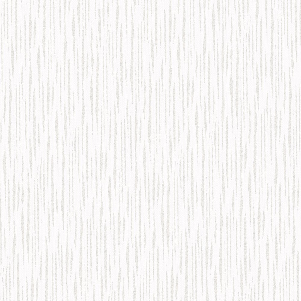 White Silver Glitter Wallpaper