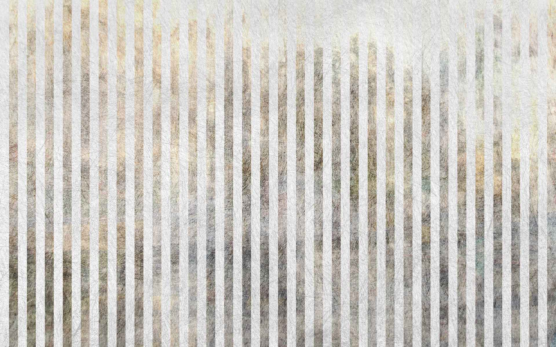 Stripe Wallpaper Silver and White Rasch 286632 | Feature
