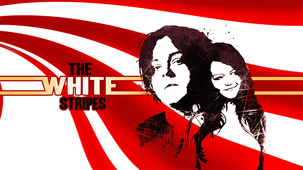 White Stripes Wallpaper