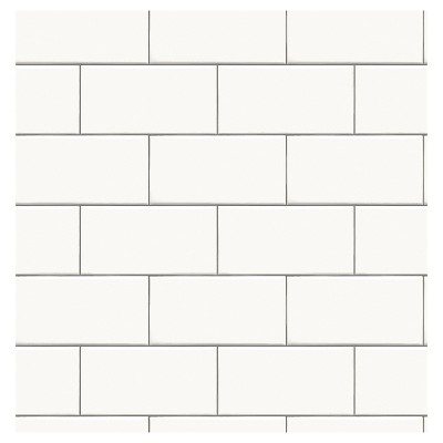 White Tile Wallpaper