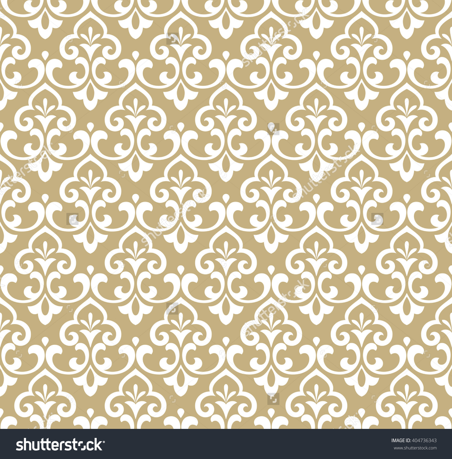download white wallpaper with gold pattern gallery