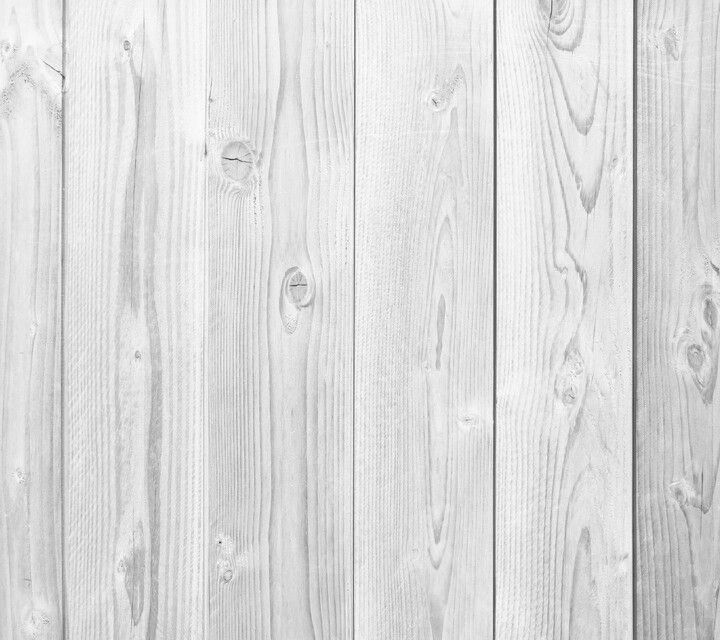 White Wood Plank Wallpaper
