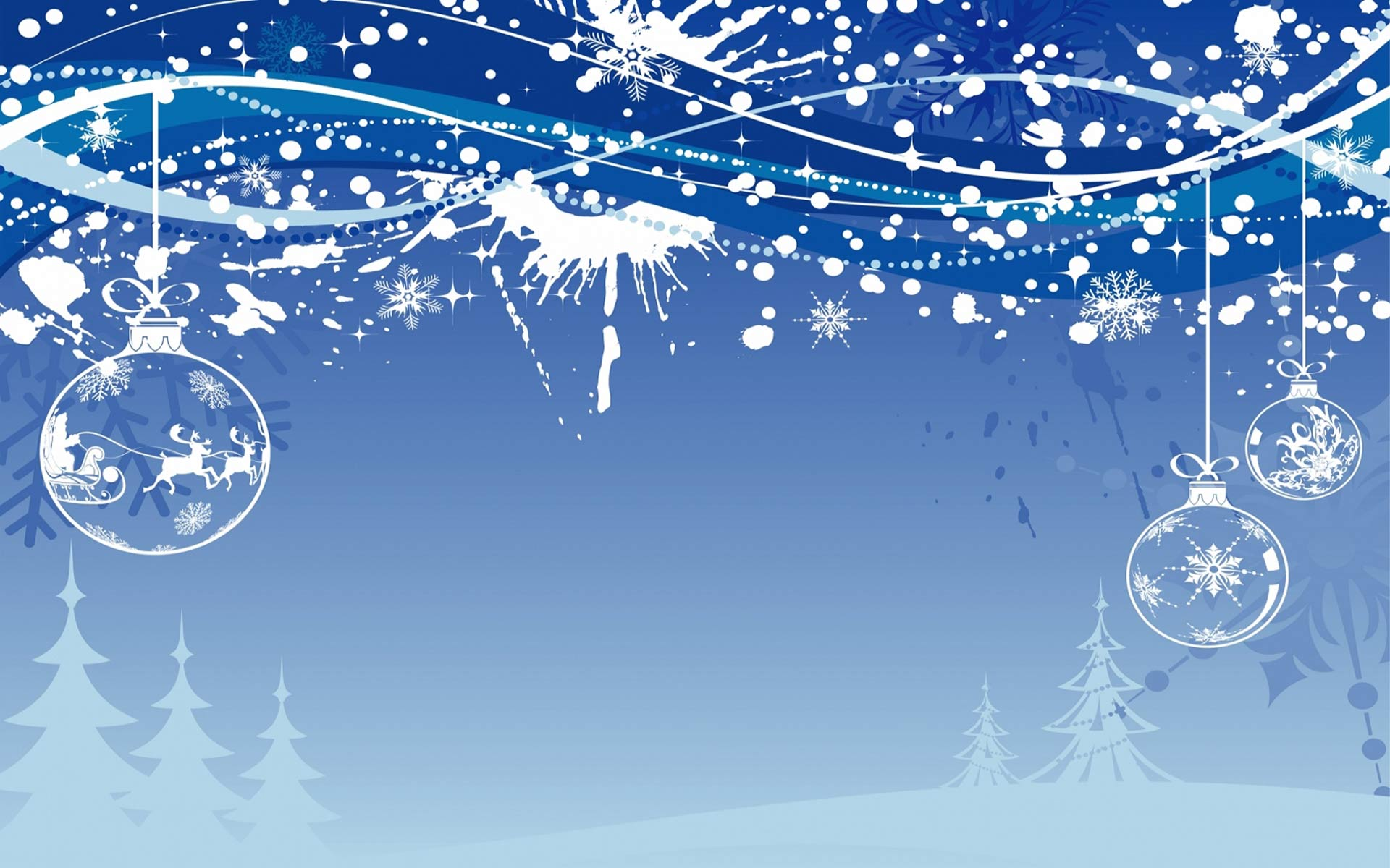 Widescreen Christmas Wallpaper