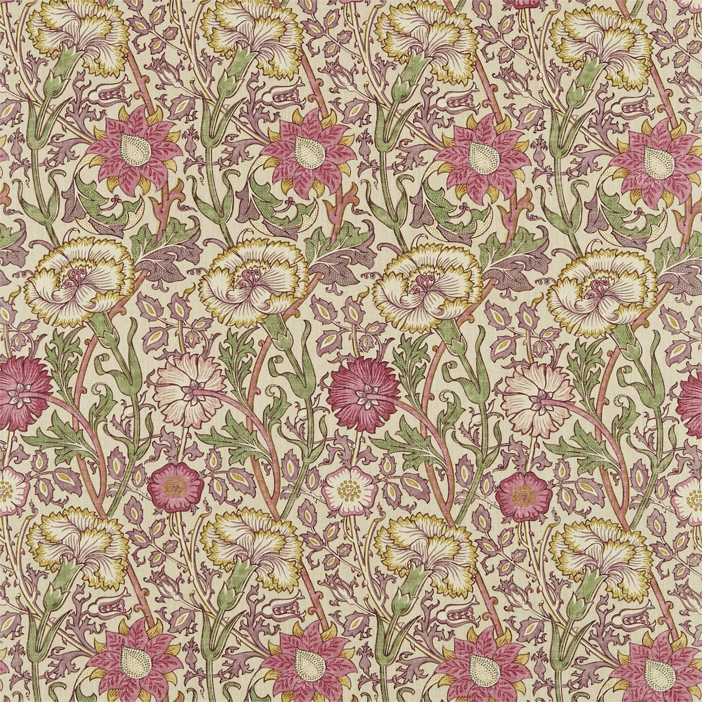 William Morris Pink And Rose Wallpaper