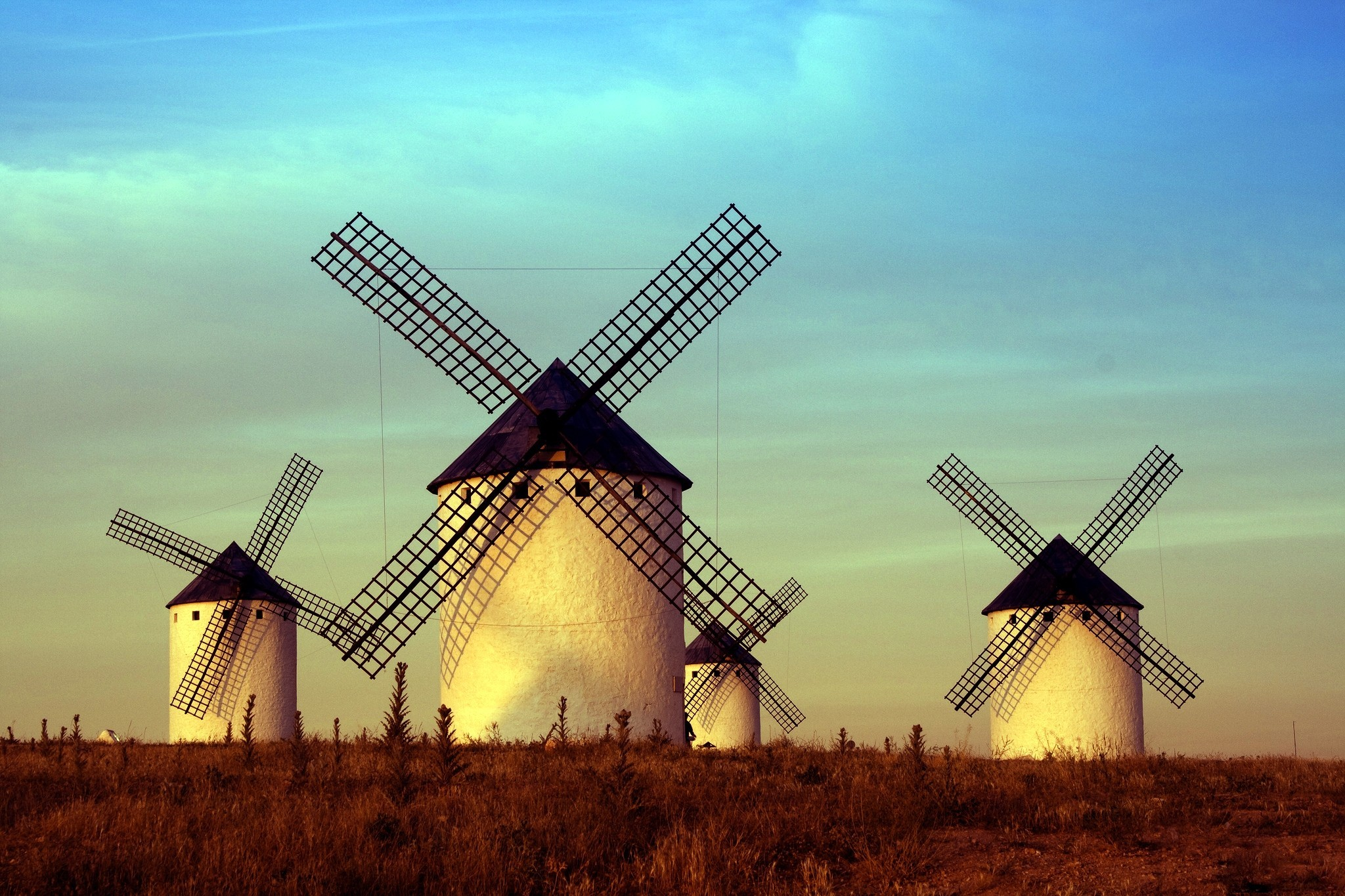 Windmills Wallpaper