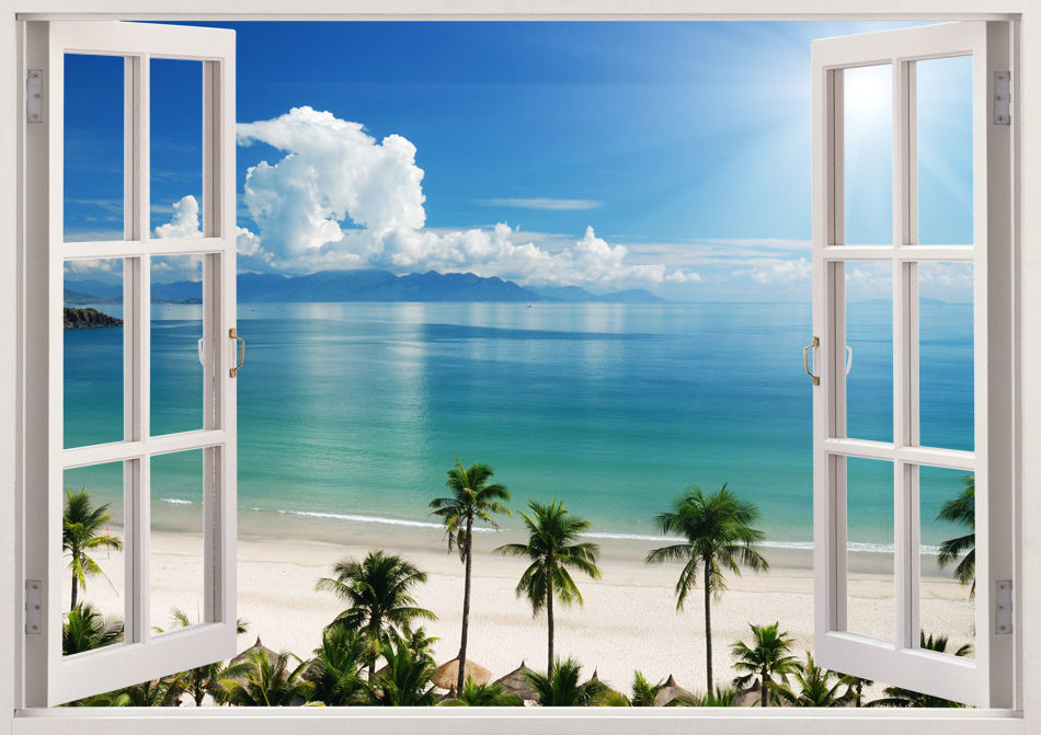 Window Scenery Wallpaper
