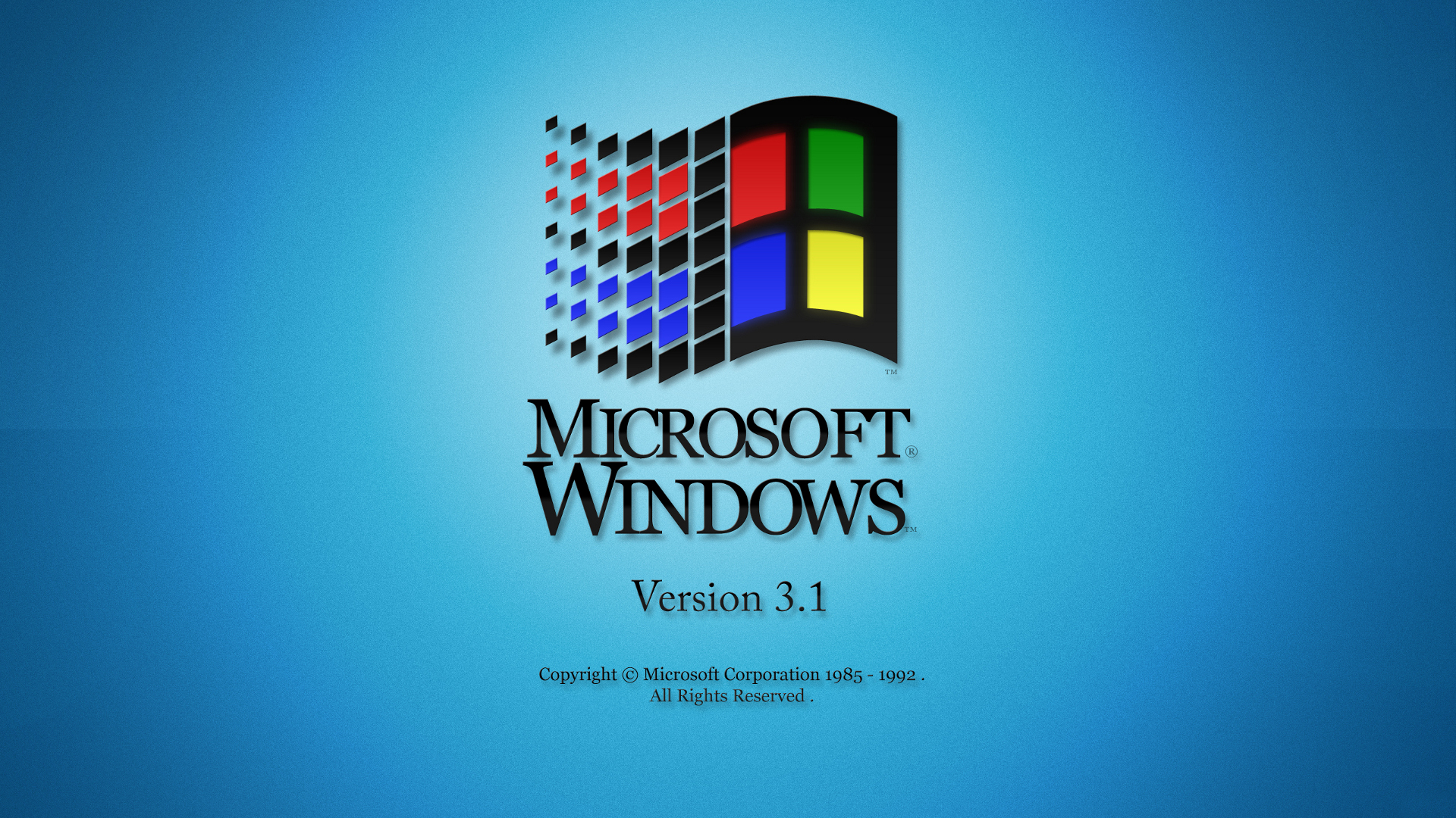 Windows 3.1 Wallpaper