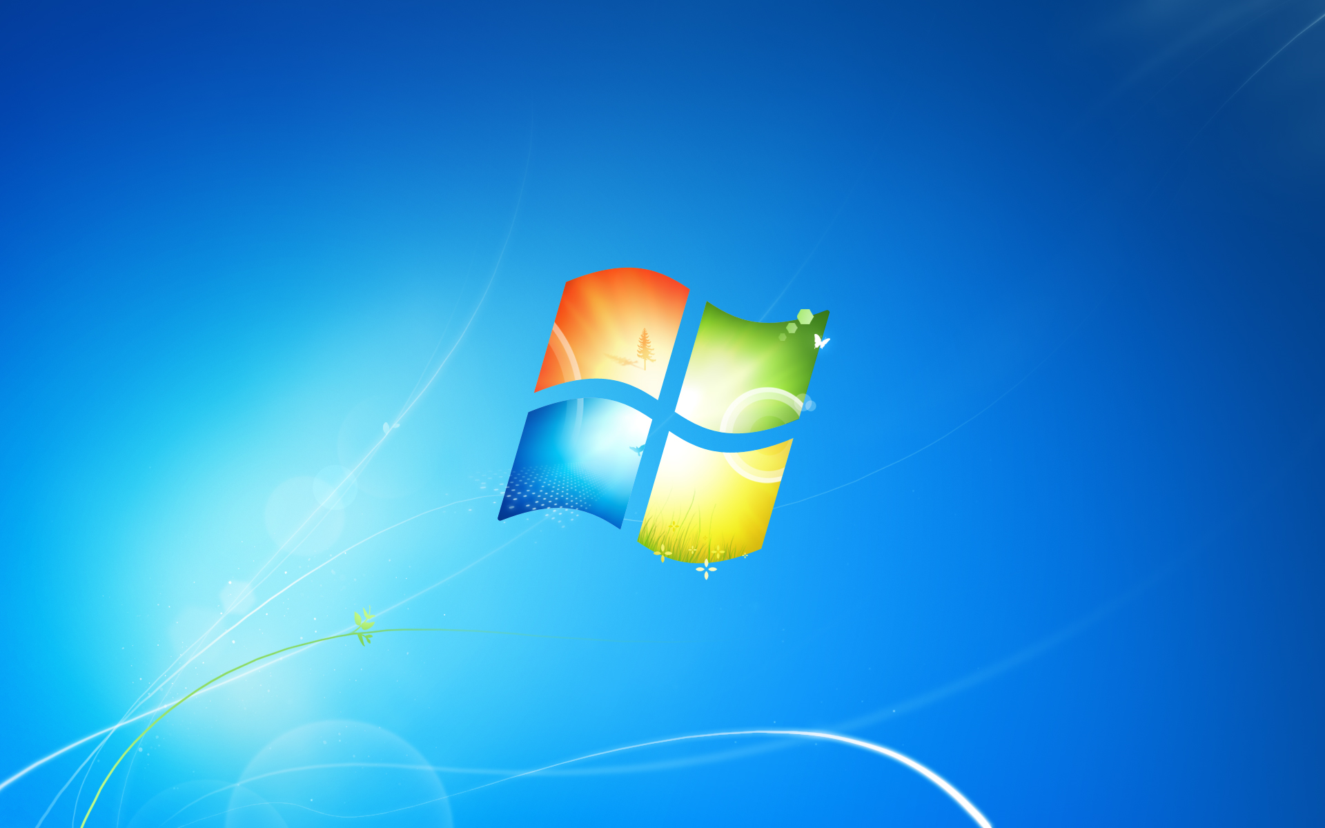 Windows 7 Default Wallpaper