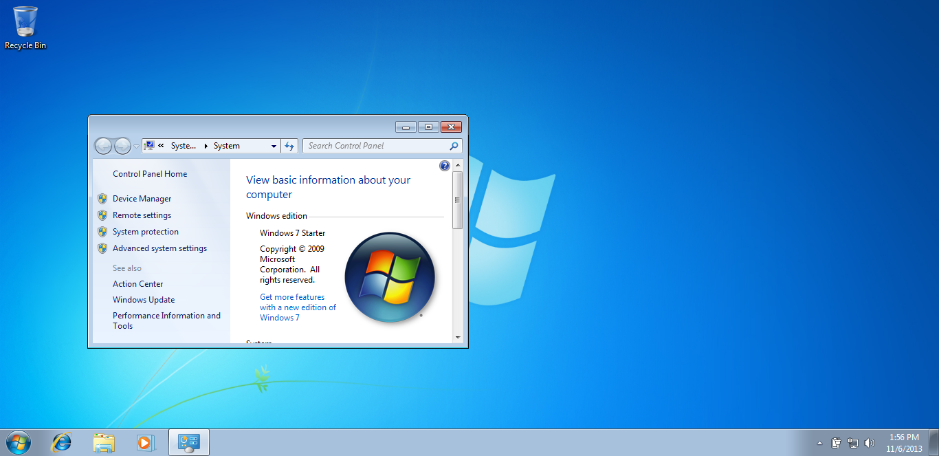 Download Windows 7 Starter Wallpaper Gallery