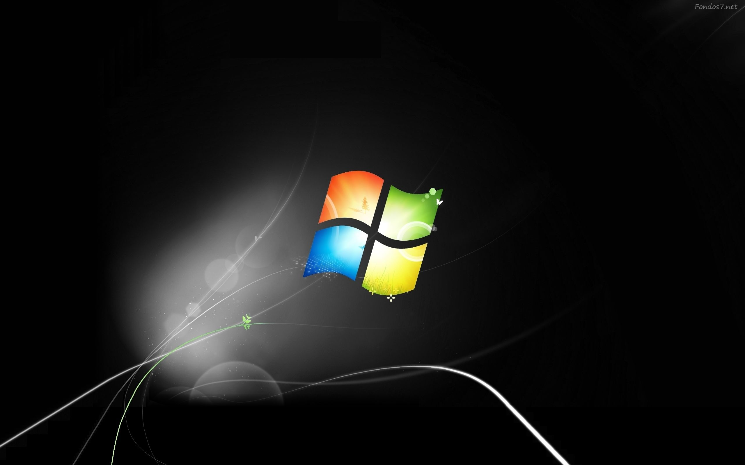 Windows 7 Wallpaper Dark