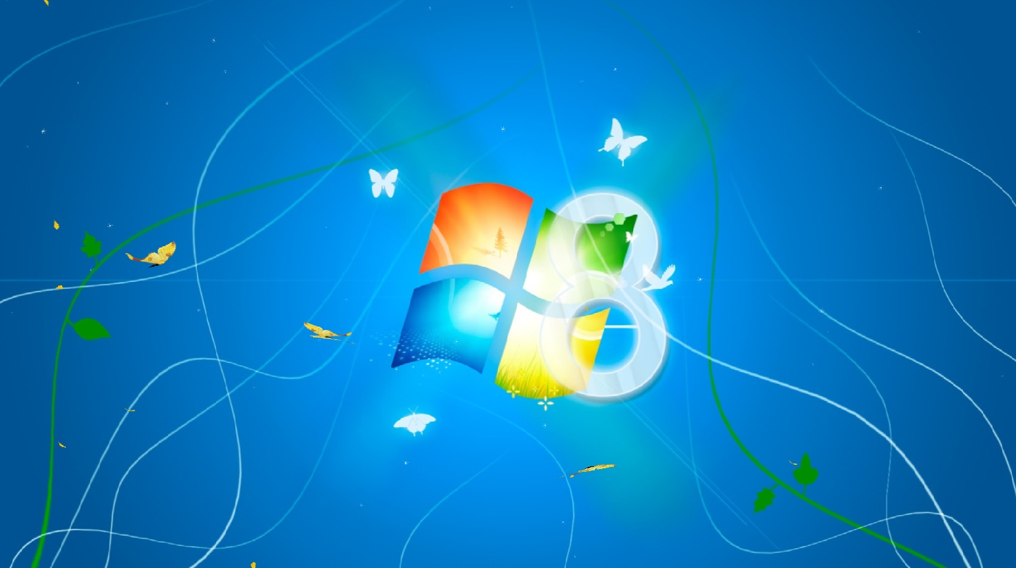 Windows 8 Animated Wallpaper