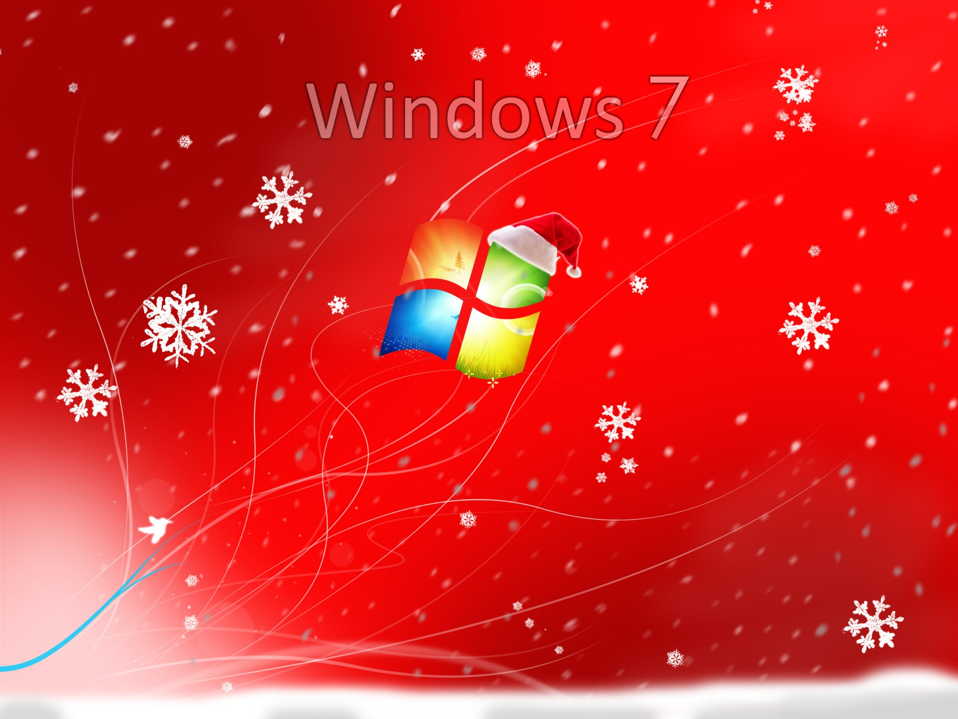 Windows Christmas Wallpaper