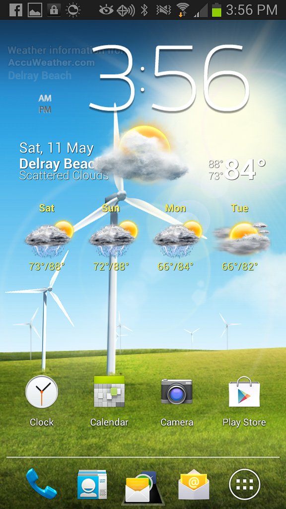 Windy Weather Live Wallpaper