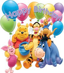 Winnie The Pooh Birthday Wallpaper