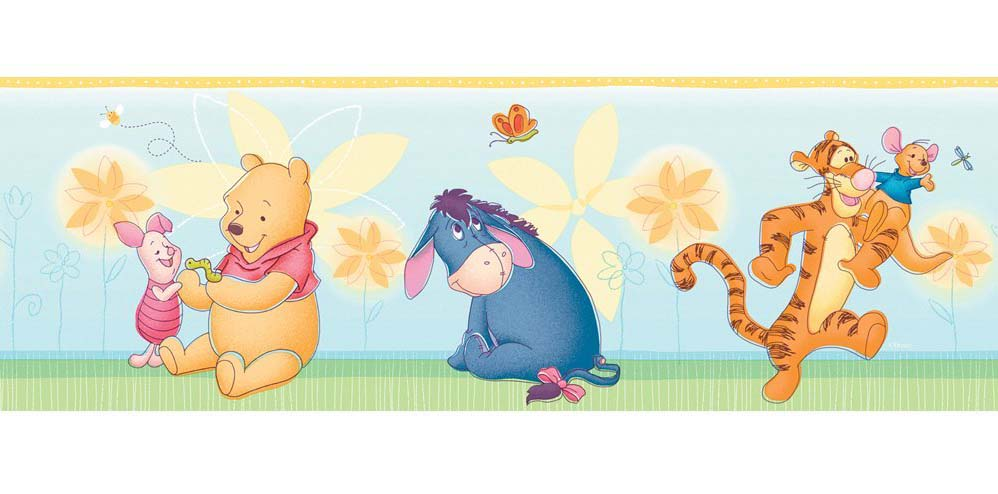 download winnie the pooh wallpaper border gallery