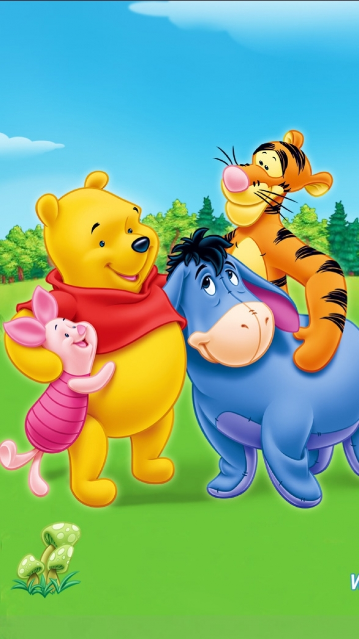 Download Winnie The Pooh Wallpapers For Mobile Gallery
