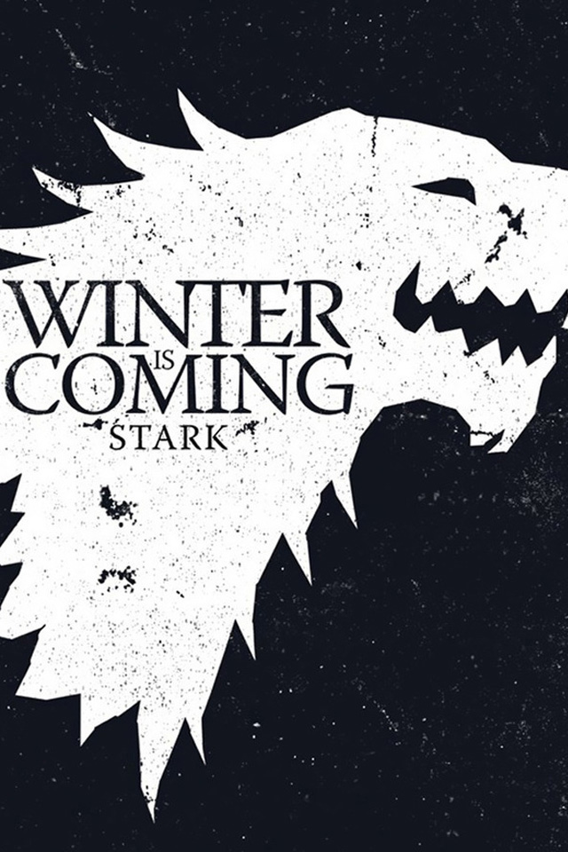 Lovely Winter Is Coming Iphone Wallpaper