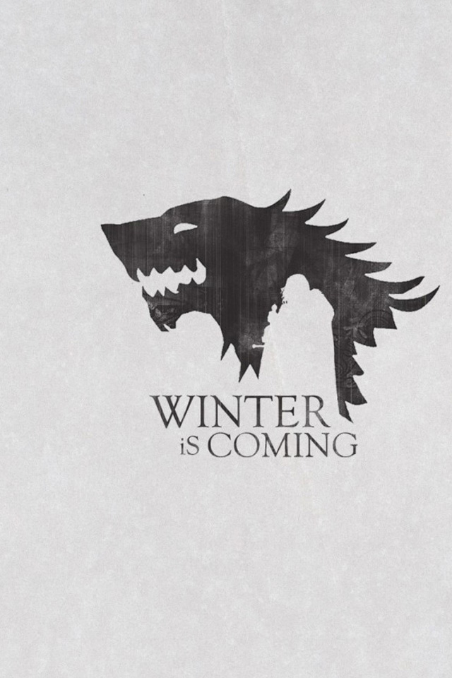 Beautiful Winter Is Coming Iphone Wallpaper