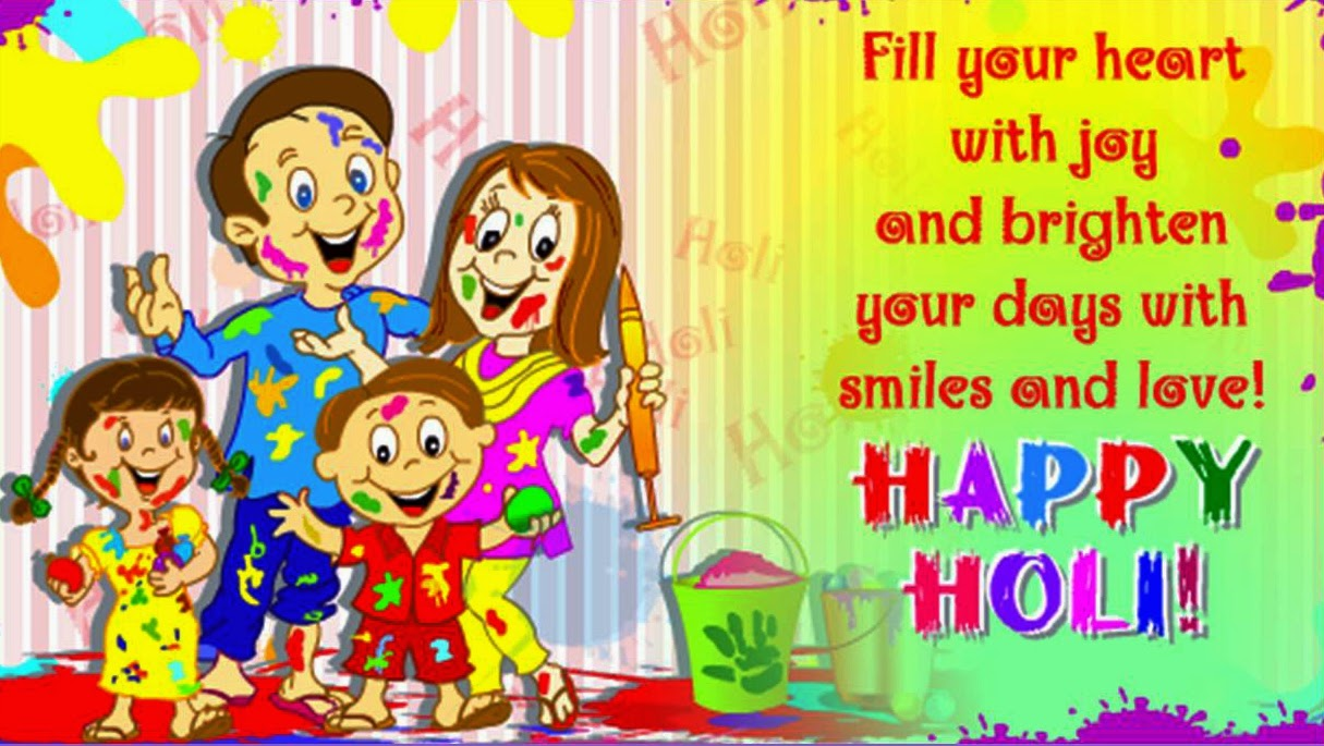 Wish You Happy Holi Wallpaper