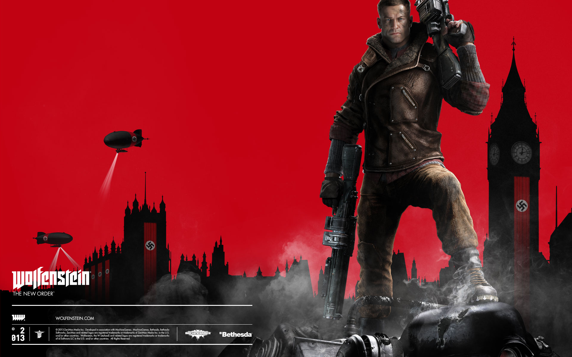Wolfenstein New Order Wallpaper