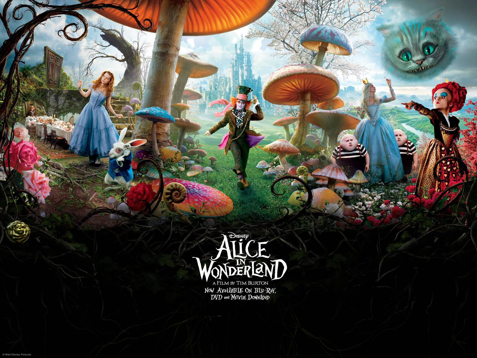 Wonderland Wallpaper