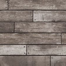Wood Plank Effect Wallpaper