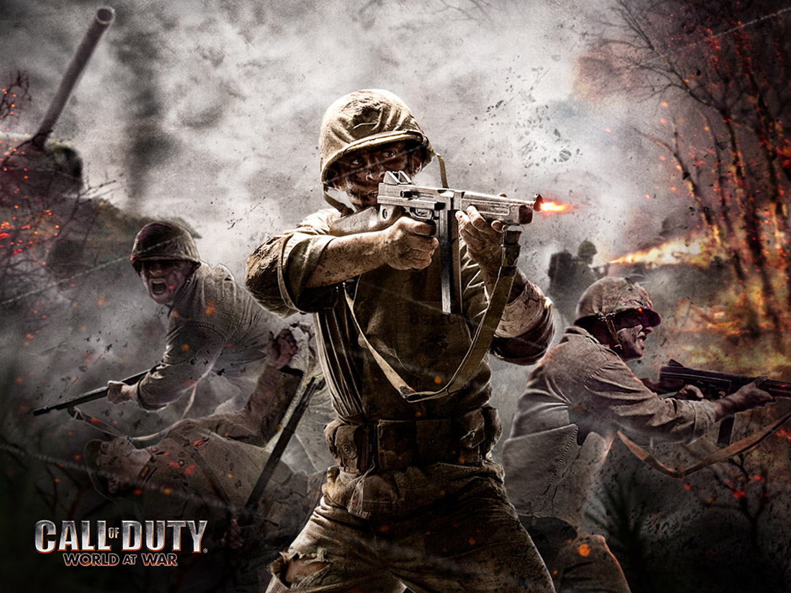 36 Call Of Duty Backgrounds Download Free Beautiful Hd: Download World At War Wallpaper Gallery