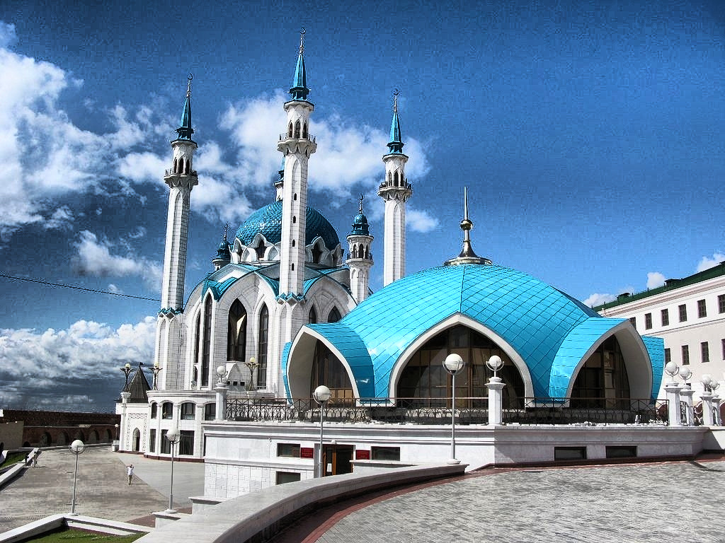 World Beautiful Mosque Wallpaper