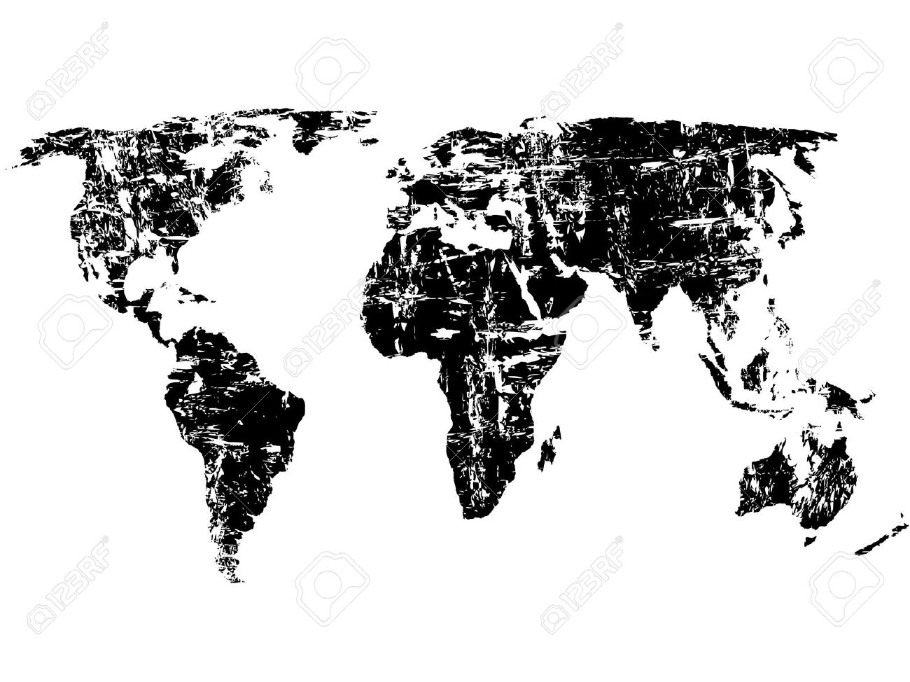 Black and white world map with continents labeled best of how to new world map wallpaper black and white world gumiabroncs Images