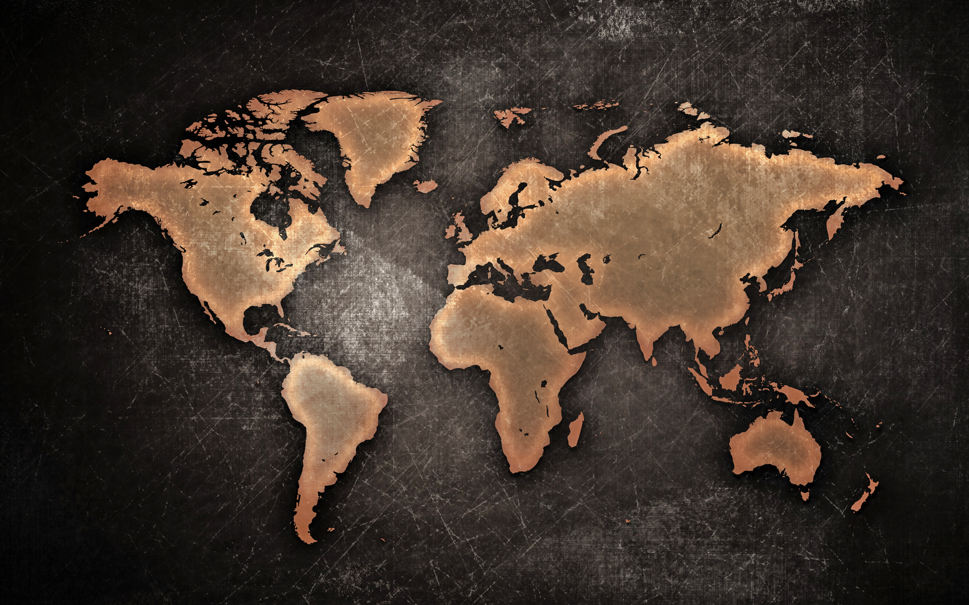 World Map Wallpapers