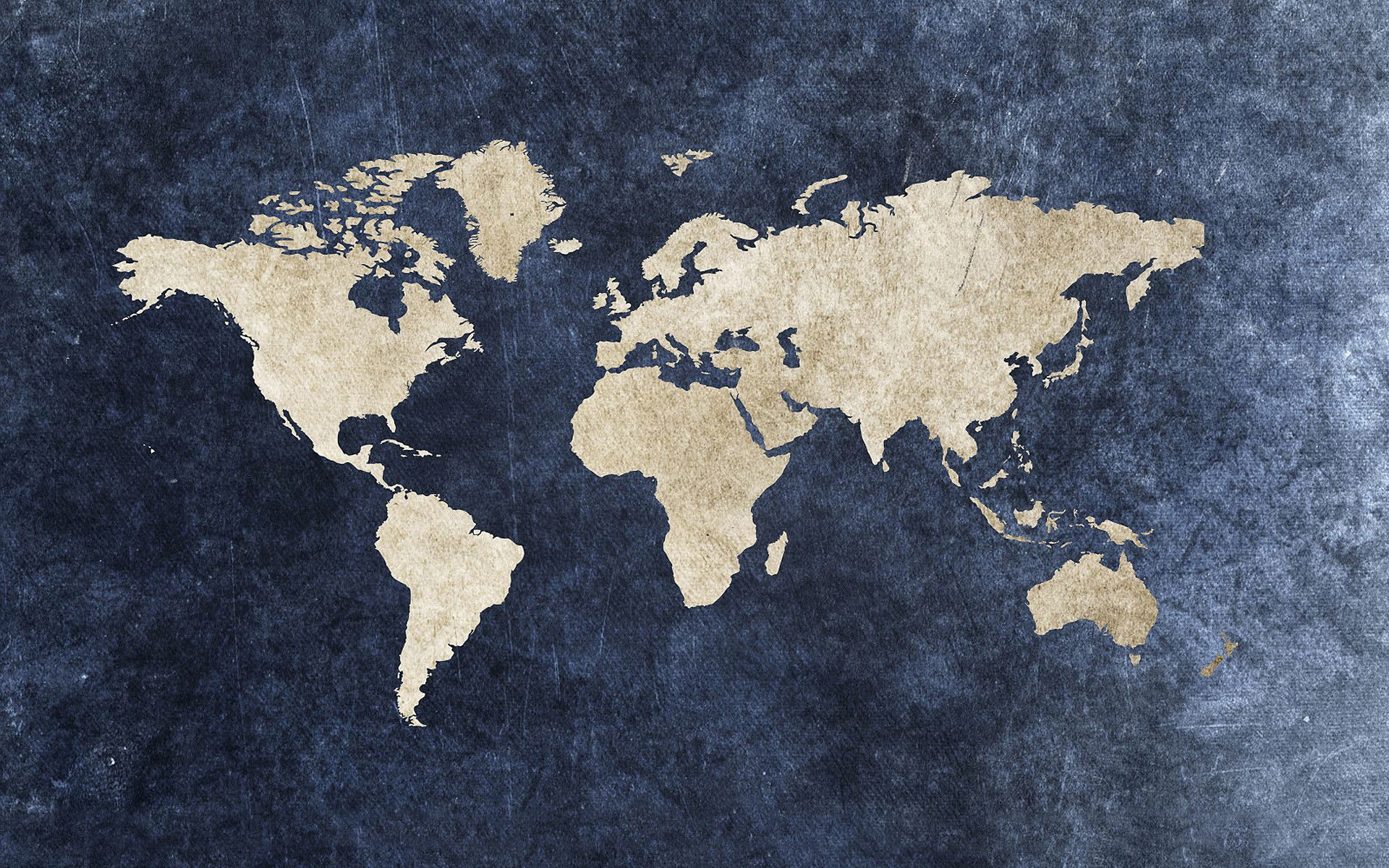World Map+Wallpaper