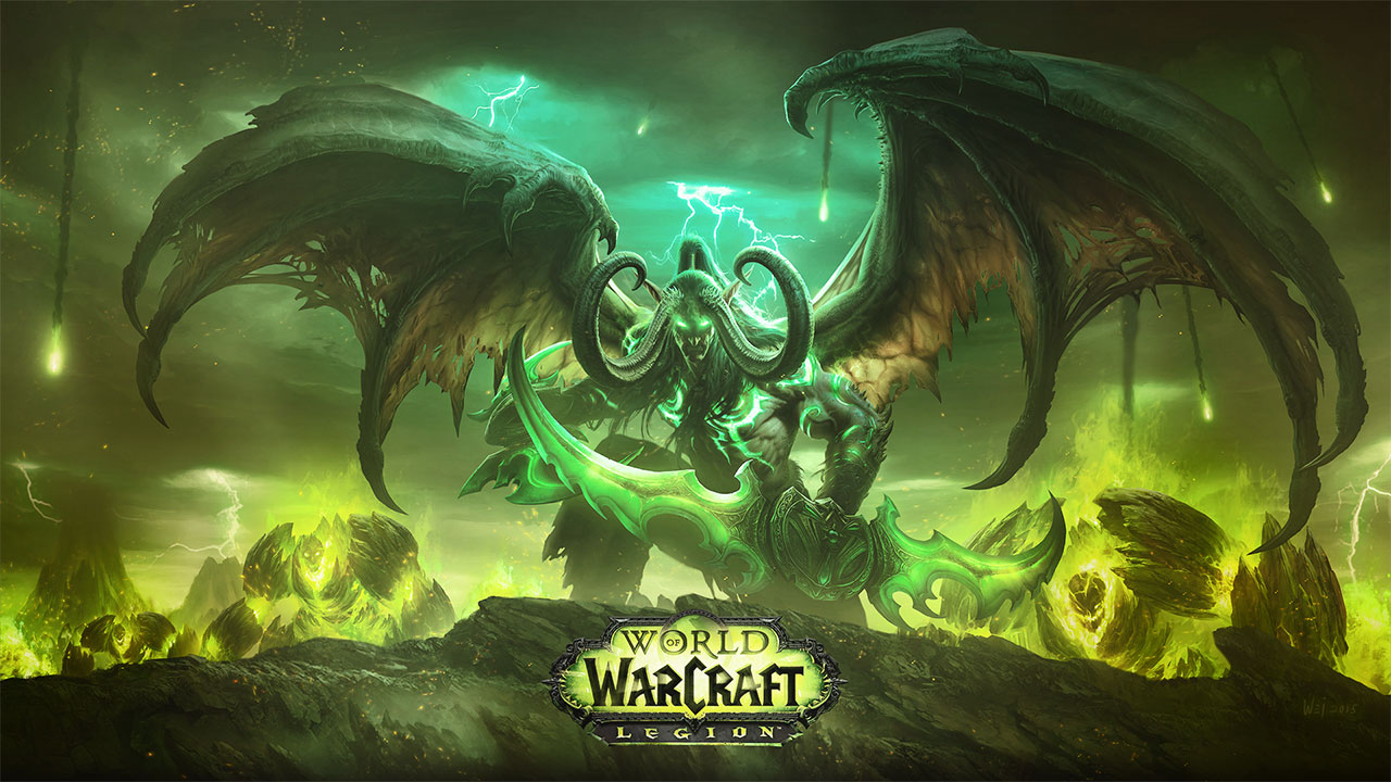 World Of Warcraft Animated Wallpaper