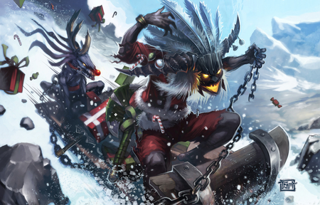 World Of Warcraft Christmas Wallpaper