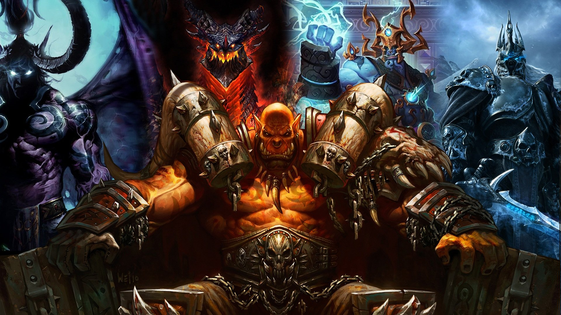 Download World Of Warcraft Warlords Of Draenor Wallpaper