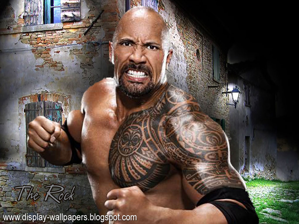 Download Wwe The Rock Wallpaper Download Gallery