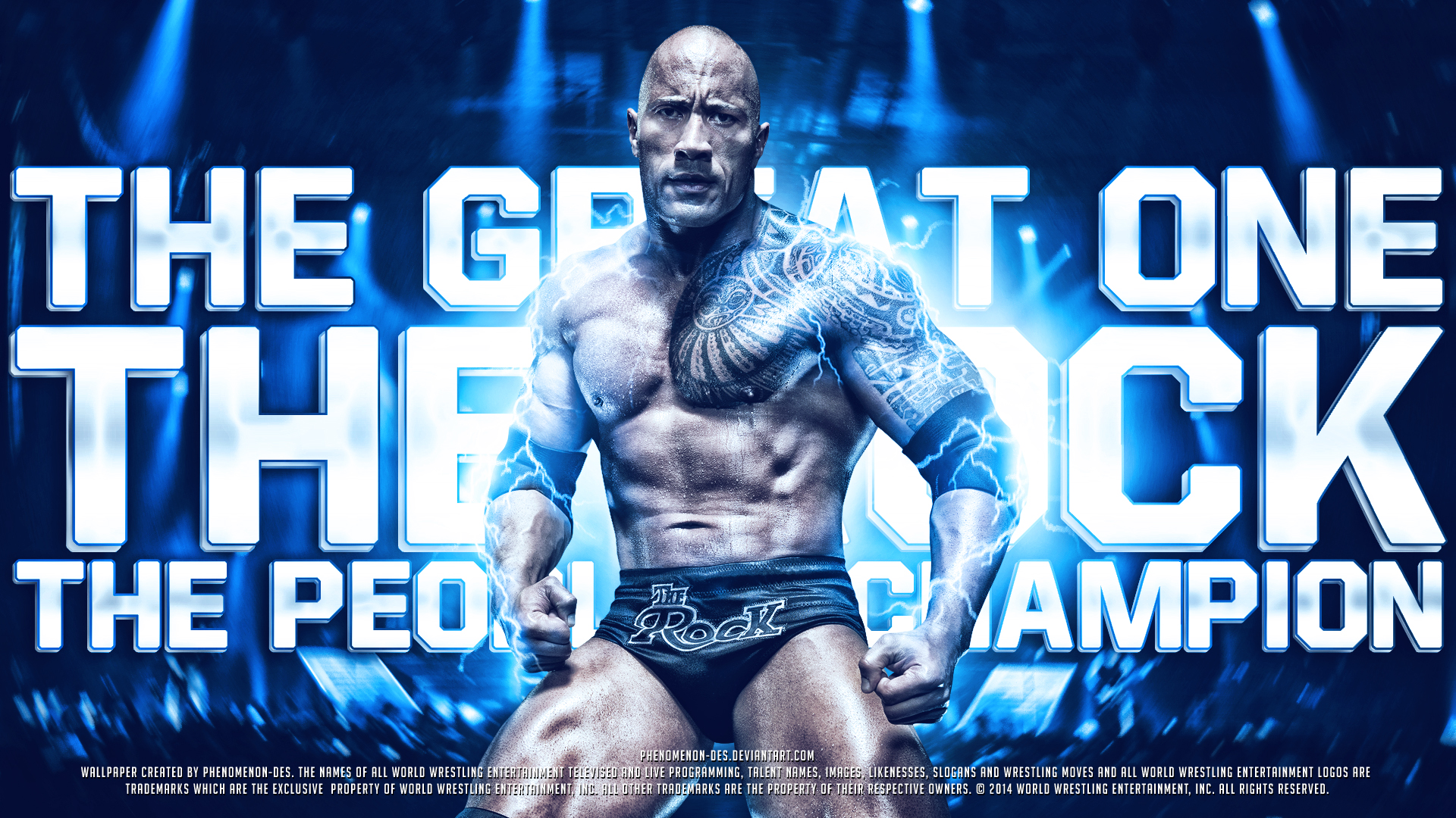 Wwe Wallpaper The Rock