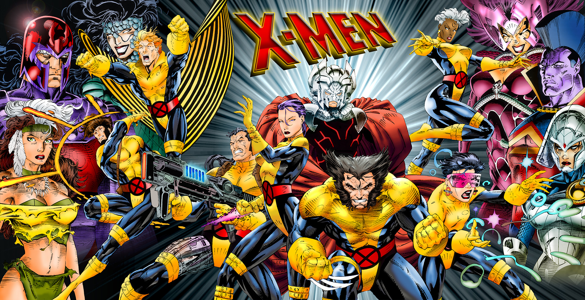 X Men Cartoon Wallpaper